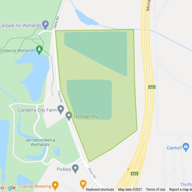 Fyshwick Sewerage Treatment Plant field guide