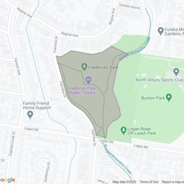 Fredericks Park field guide