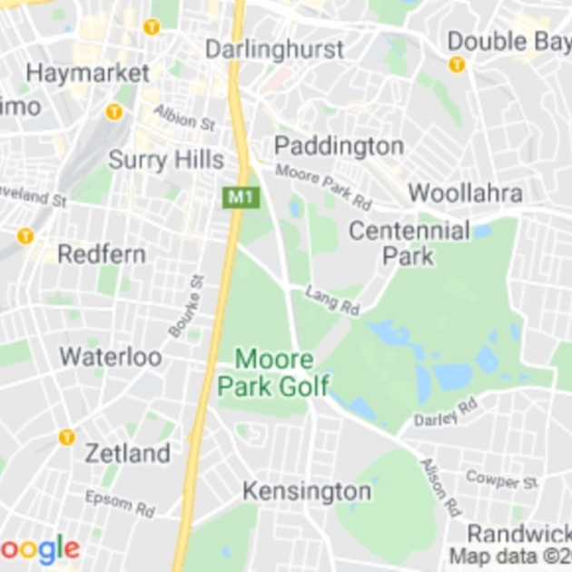 Moore Park, NSW field guide