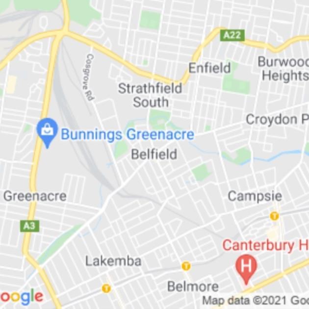 Belfield, NSW field guide