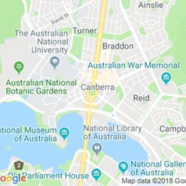 Canberra Central, ACT field guide