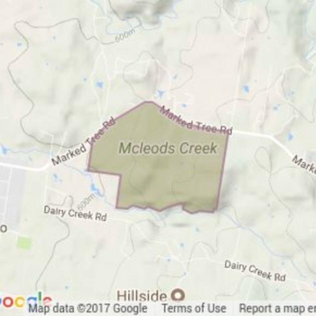 Mcleods Creek Res (Gundaroo) field guide