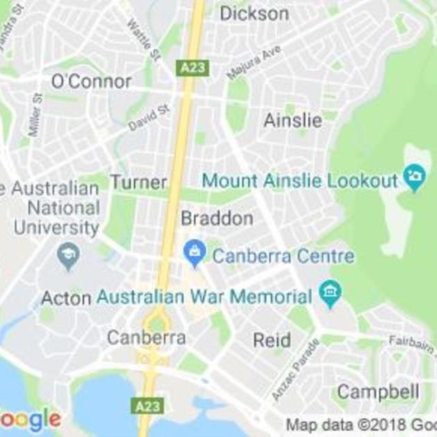 Braddon, ACT field guide
