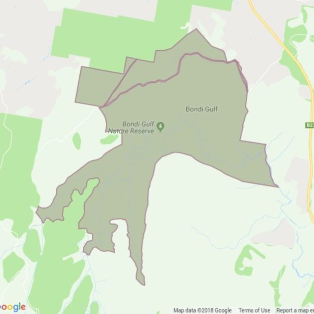 Bondi Gulf Nature Reserve field guide