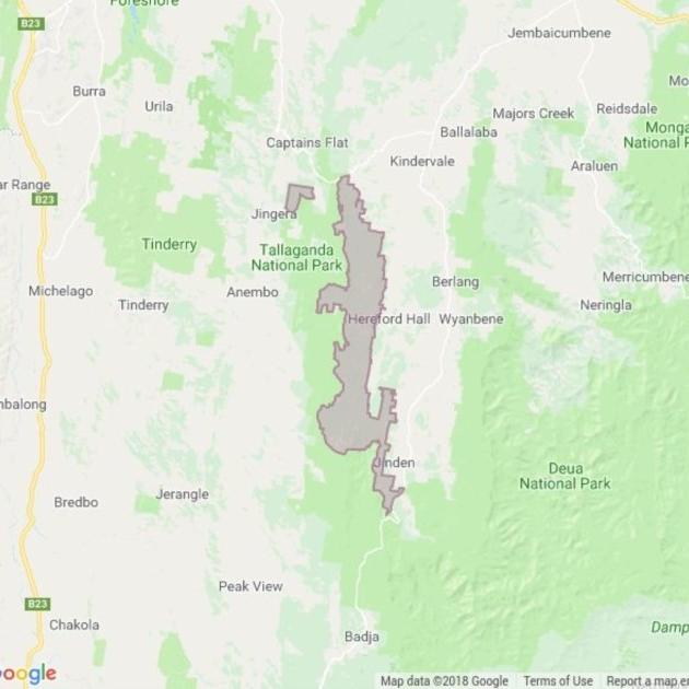 Tallaganda State Forest field guide