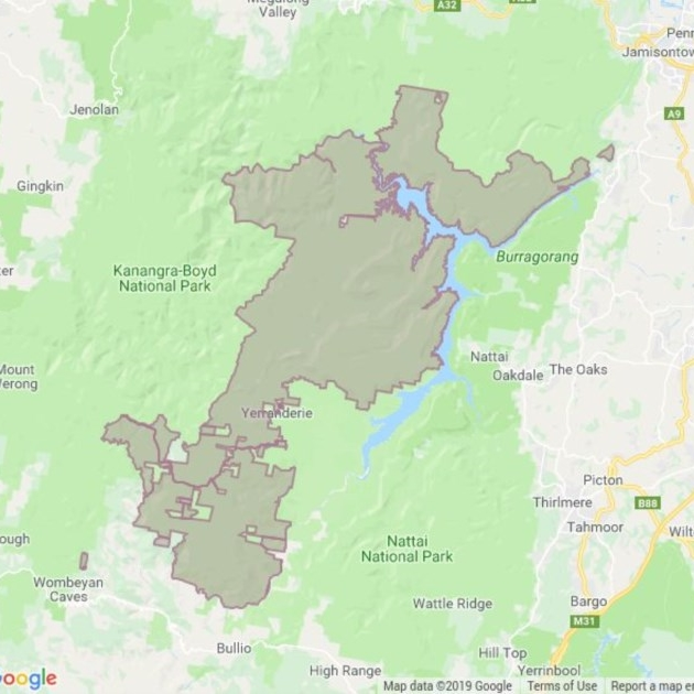 Blue Mountains National Park field guide