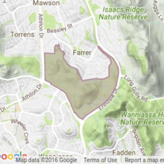 Farrer Ridge field guide