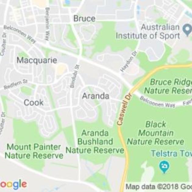 Aranda, ACT field guide