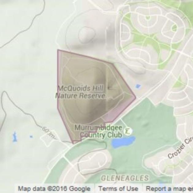 Mcquoids Hill field guide